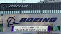 Boeing 'space taxi' contract; Eli Lilly and AstraZeneca team up; Majesco shares slide