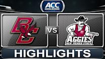 Boston College vs New Mexico State | 2013 ACC Football Highlights