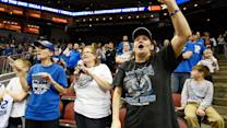 Kentucky fans pack Louisville arena… for practice