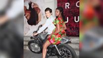Orlando Bloom Smooches Romeo And Juliet Co-Star Condola Rashad
