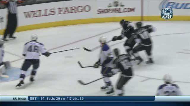 Tyler Toffoli scores on second effort