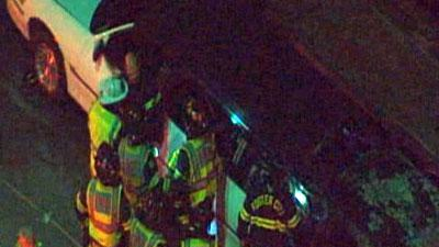 Raw: Five Passengers Killed in Calif. Limo Fire