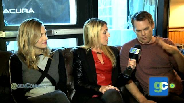 Michael C. Hall & Vinessa Shaw on 'Cold In July'