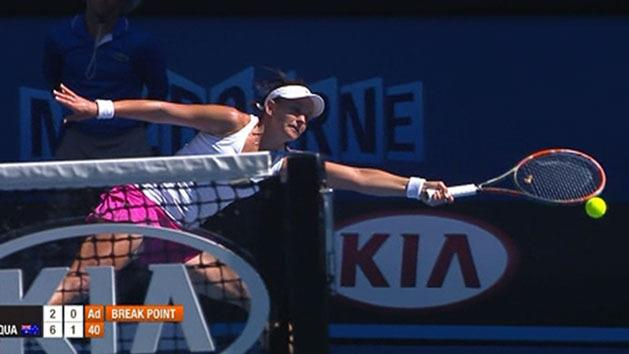 Ext. highlights: Dellacqua v Zheng