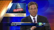 Calif. economy could take hit if government shutdown lasts awhile