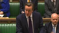 "Turning ""blind eye when nations are trampled"" causes long term problems - Cameron"