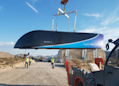 Hyperloop One Has Successful Full-System Test, Show Images Of Its 'Pod'