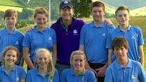 Year-out: Captains tee up with Club Golf Juniors