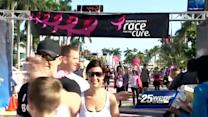 Sea of pink take part in Susan G. Komen Race