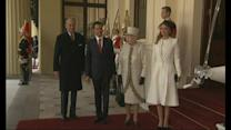 The Queen welcomes the President of Mexico to Britain