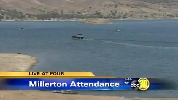 Millerton Lake sees smaller Memorial Day crowds