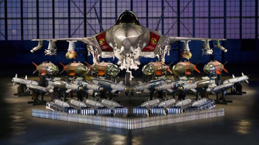 Behold the most expensive weapons system ever and all of its ammunition in one photo