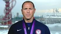 London Olympic Games 2012: Jason Lezak Takes Silver