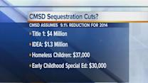CMSD and Sequestration Cuts