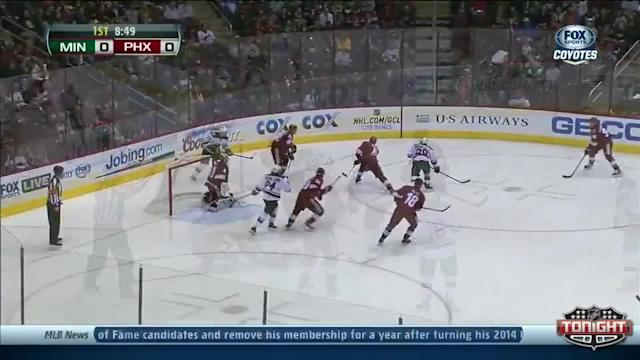 Minnesota Wild at Phoenix Coyotes - 01/09/2014