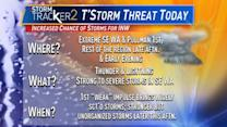 4 things to know Wednesday's stormy weather