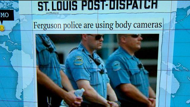 Headlines at 7:30: Ferguson police department wears body cameras