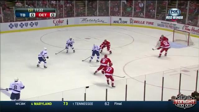 Tampa Bay Lightning at Detroit Red Wings - 03/30/2014
