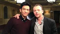 John Cho, Simon Pegg talk 'Star Trek Into Darkness'