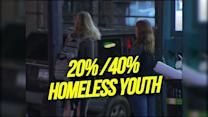 One third of homeless youth are LGBT