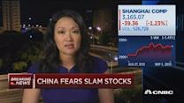China chief of Man Group 'missing'