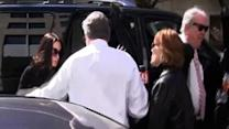 Raw: Casey Anthony Arrives at Bankruptcy Court