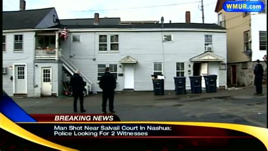 Police looking for 2 men who witnessed Nashua shooting