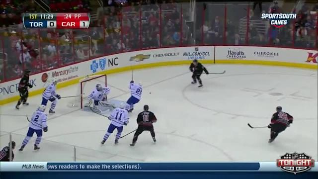 Toronto Maple Leafs at Carolina Hurricanes - 01/09/2014
