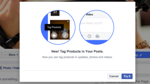 Facebook is testing a new way for businesses to tag products