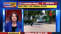 VVIPs won't use number plates