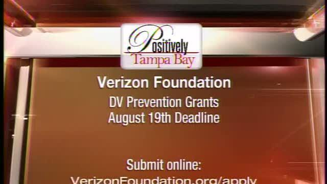 Positively Tampa Bay:Verizon Foundation DV Prevention Grants