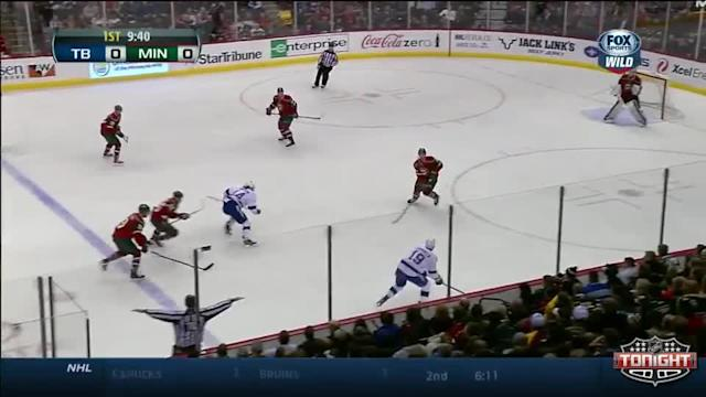 Tampa Bay Lightning at Minnesota Wild - 02/04/2014