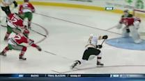 Brad Marchand beats Brodeur for the SHG