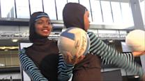 Muslim Girls Design Modest Sportswear