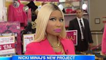 Nicki Minaj Talks Clothing Line & New Music- Good Morning America