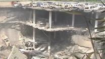 Raw: First Images of Westgate Destruction