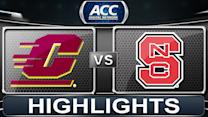 Central Michigan vs NC State | 2013 ACC Football Highlights