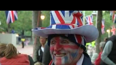 Britons ready for final cheer for jubilee queen.