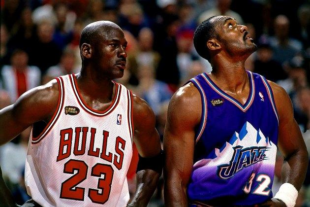 Karl Malone leaves Michael Jordan off his all-time ...