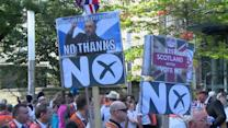 Uncertainty as Scottish independence vote nears