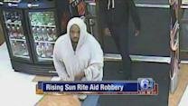 Ssurveillance released in Rite Aid robbery, rewards offered