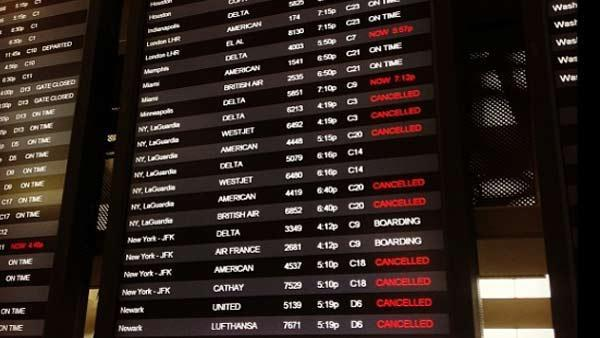 Passengers face obstacles traveling to Northeast