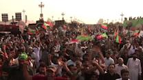 Pakistan protesters march on Islamabad