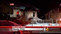 Woman Hurt After Fire Breaks Out At Home
