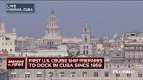 First US cruise ship prepares to dock in Cuba since 1959
