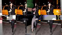 Kim Kardashian Brings Style To New York City
