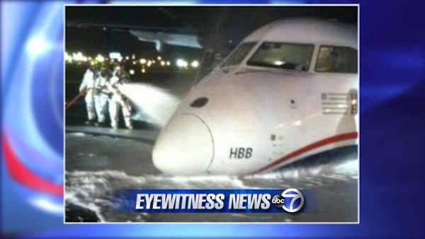 Passenger describes terrifying moments on board Newark flight