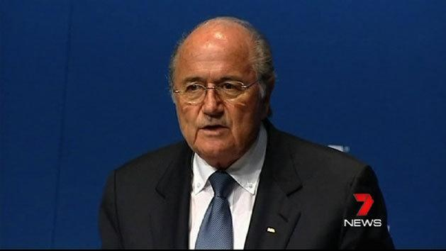 Blatter launches attack