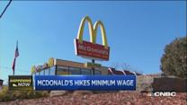 McDonald's pay raise stirs some controversy