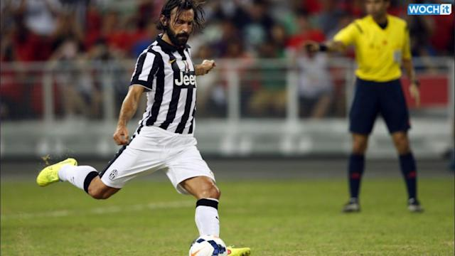 Pirlo At Double As Juve Thrash Singapore Selection